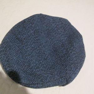 698600f36 SHANDON Blue Tweed 100% Wool Cap Hat Ireland
